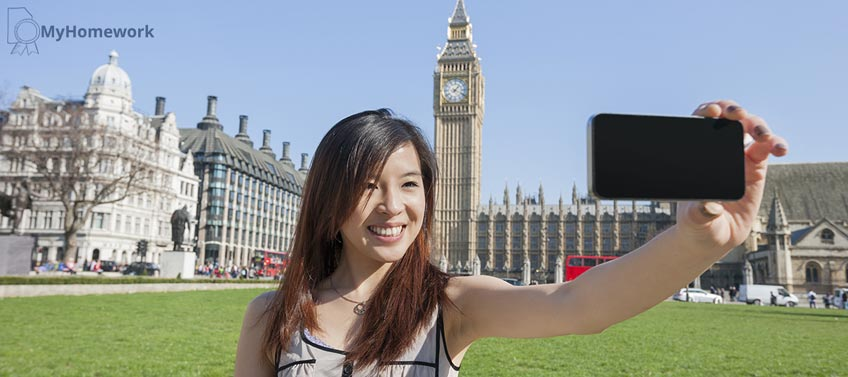 Selfie in Front of Big Ben